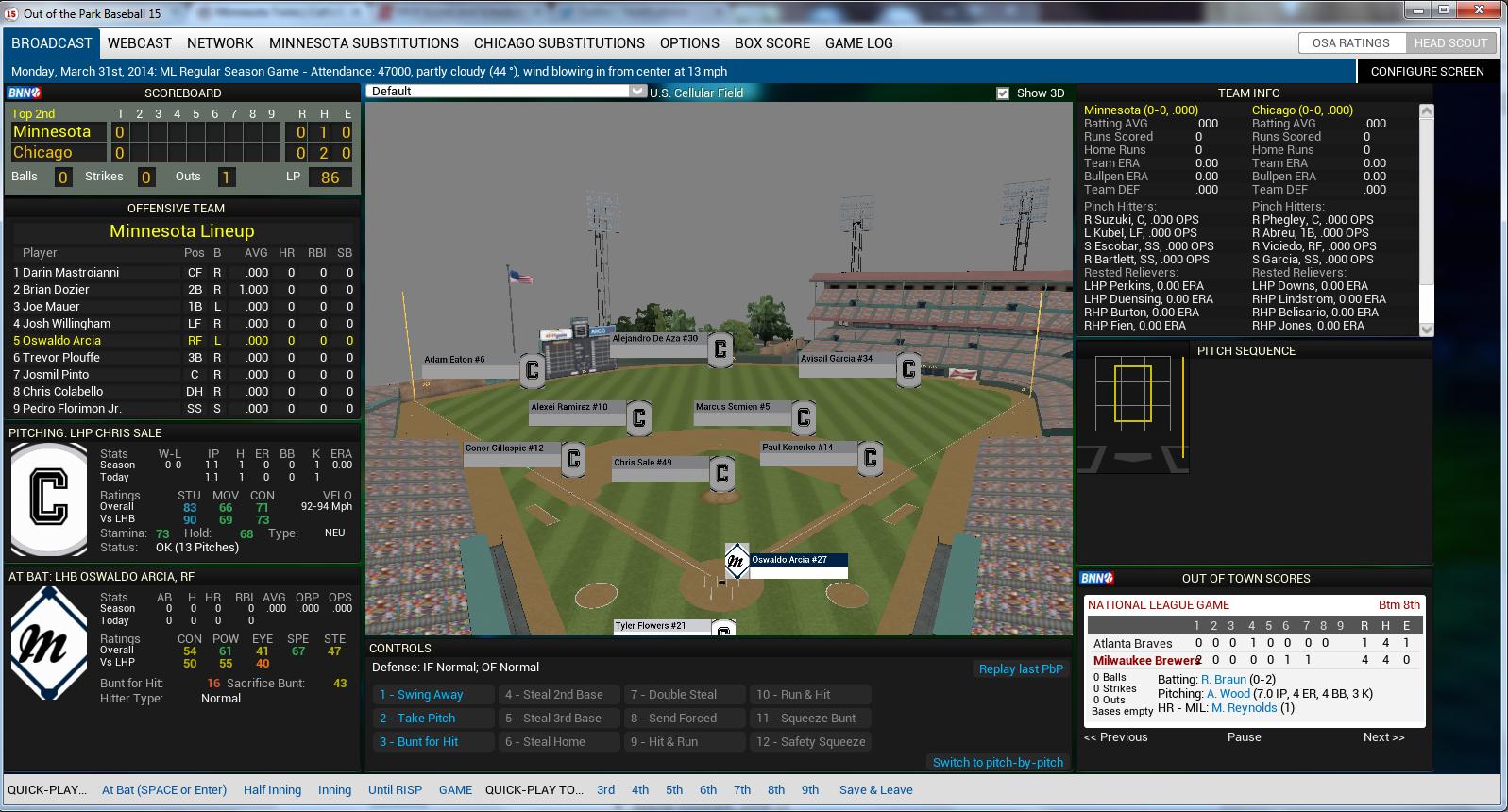 OOTP15 3D Field 2