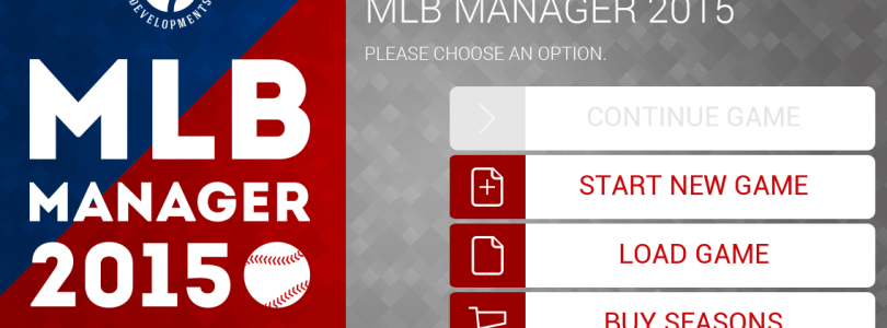 Review of MLB Manager 2015 – A game that'll be a time killer