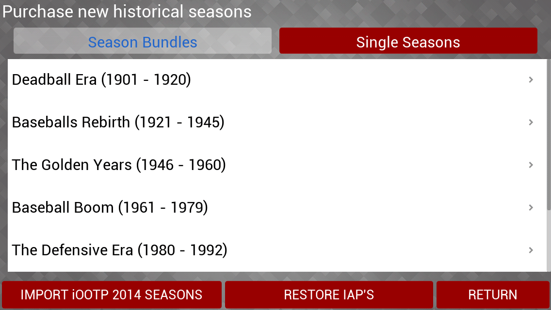 2-Historical Seasons