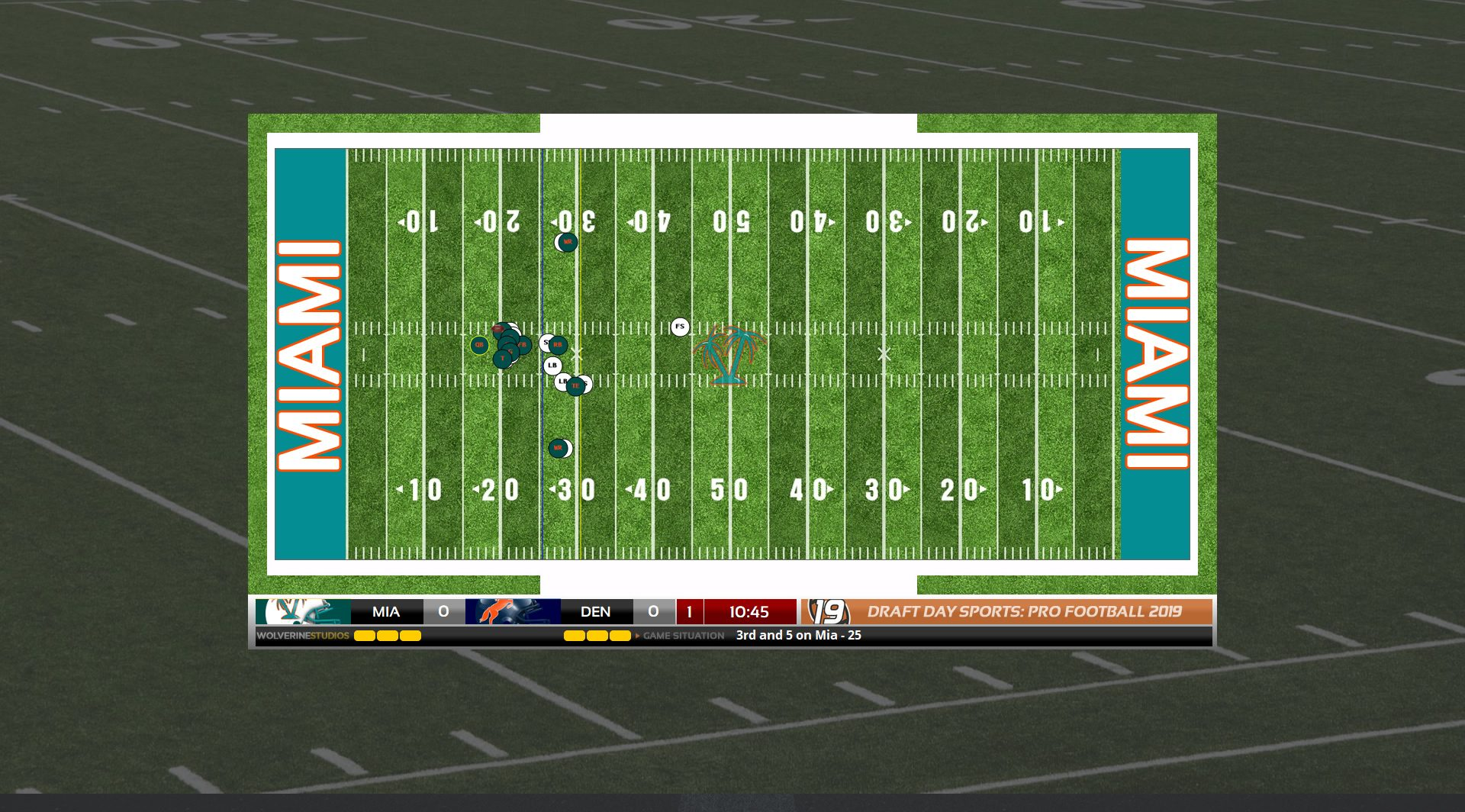 Draft Day Sports: Pro Football 2019 (PC) NFL Manager