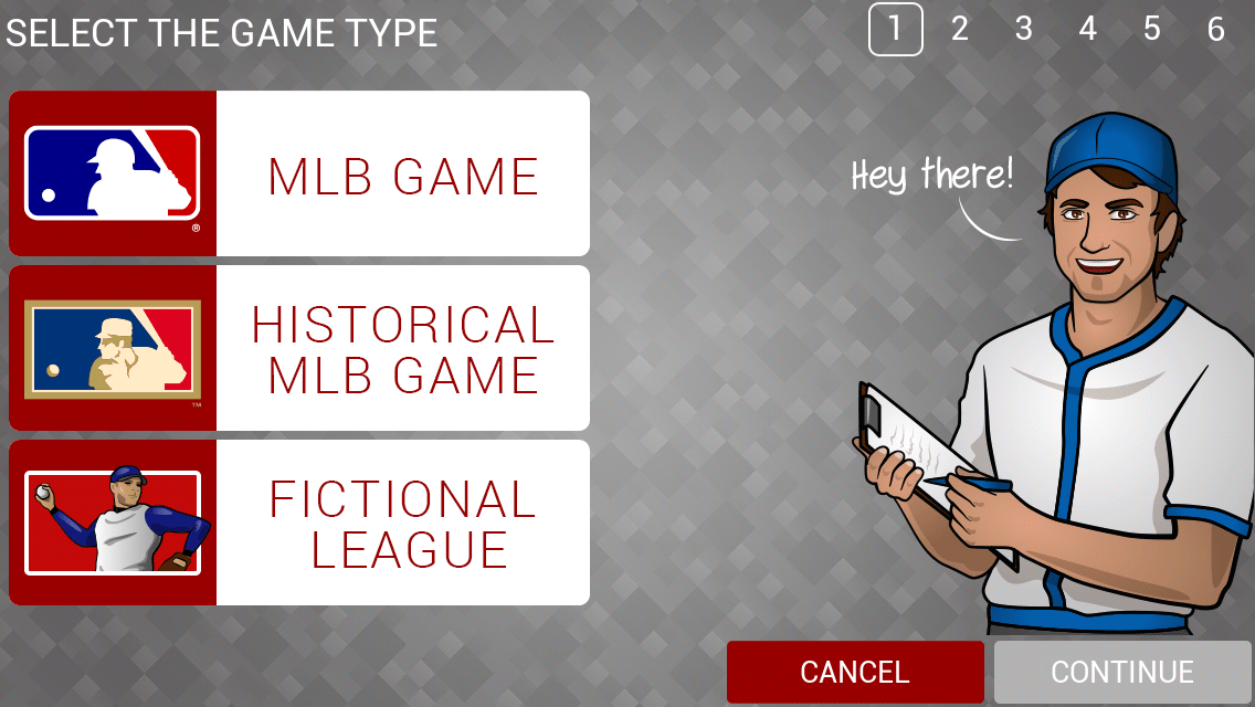 3-Select the Game Type