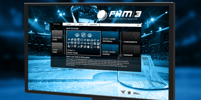 It's out. Franchise Hockey Manager – FHM 3 (PC, Mac)