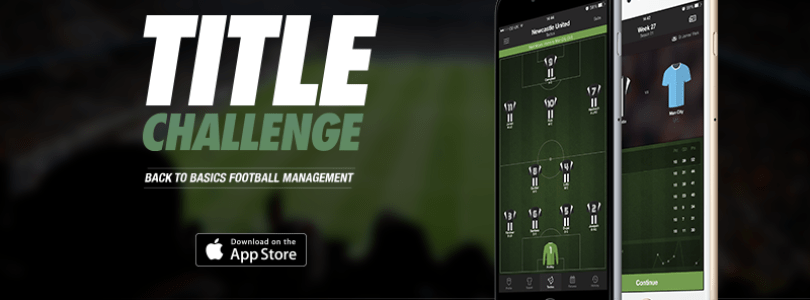 Title Challenge (iOS) looking to live up to its name in mobile football management