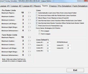 SimonT Hockey Simulator (STHS)