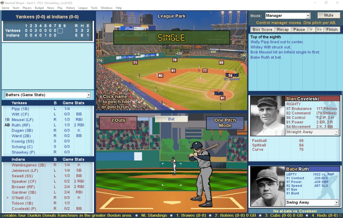 Baseball Mogul 2017 Windows Pc Mlb Manager