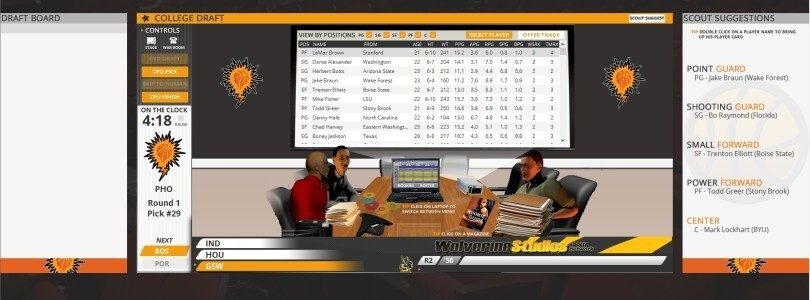 Review of Draft Day Sports: Pro Basketball 4 – Continued strides in every new version