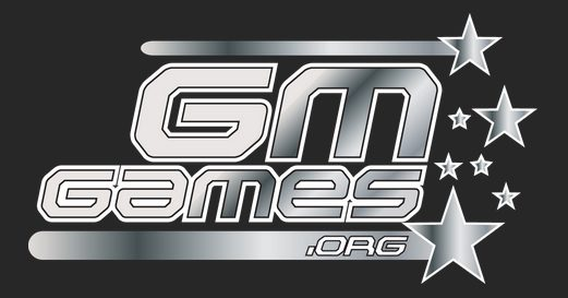 GM Games Logo Dark