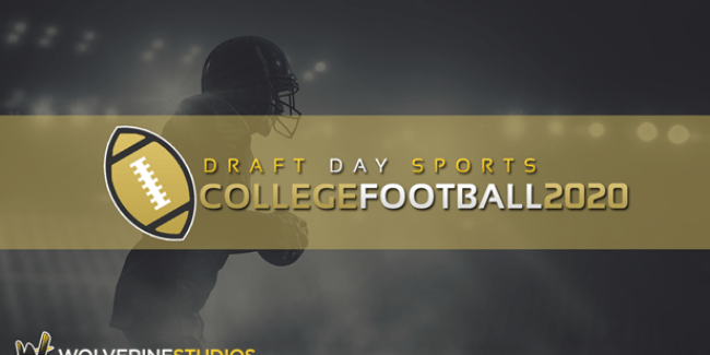 Draft Day Sports: College Football 2020 has officially launched