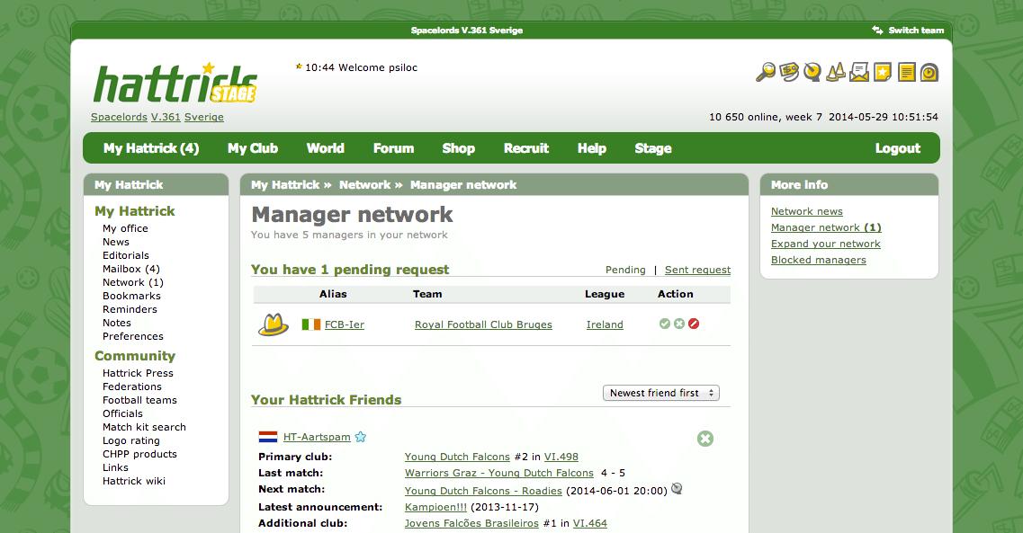 Hattrick Manager