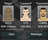 MMA Manager Bit by Bit