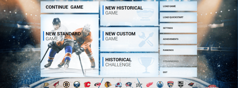 The scoop! Franchise Hockey Manager FHM5 features for this 2019 season