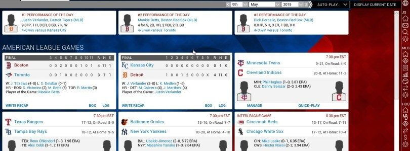 OOTP 16 Features MLB.com, MiLB Licenses (PC, Mac, Linux)