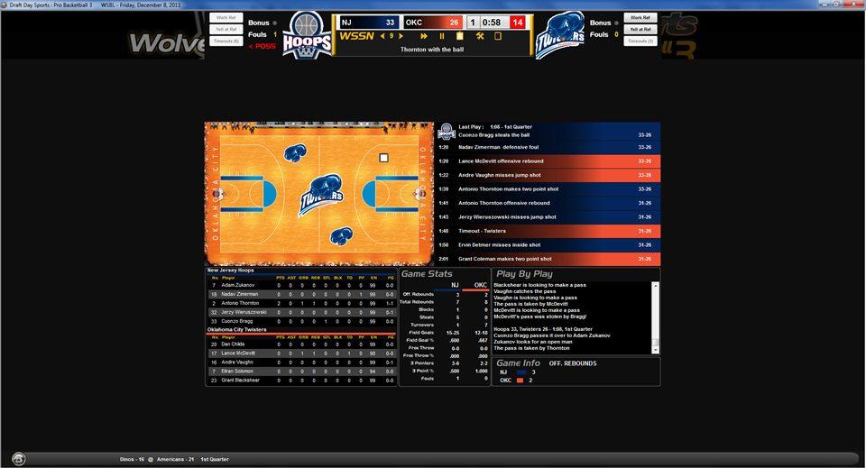 DDS Pro Basketball 3