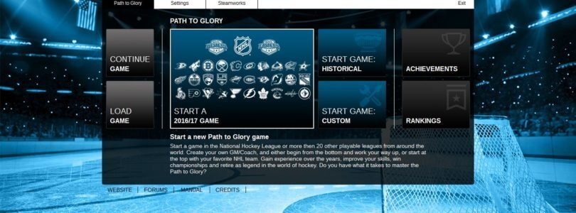 Franchise Hockey Manager 3, Officially Licensed by the NHL