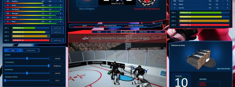 A new entry arrives in Hockey Manager 2020 (PC)