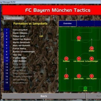 Championship Manager (Champman) 01/02