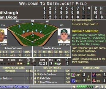 SimDynasty Baseball